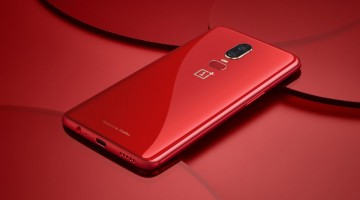 oneplus 6 amber red