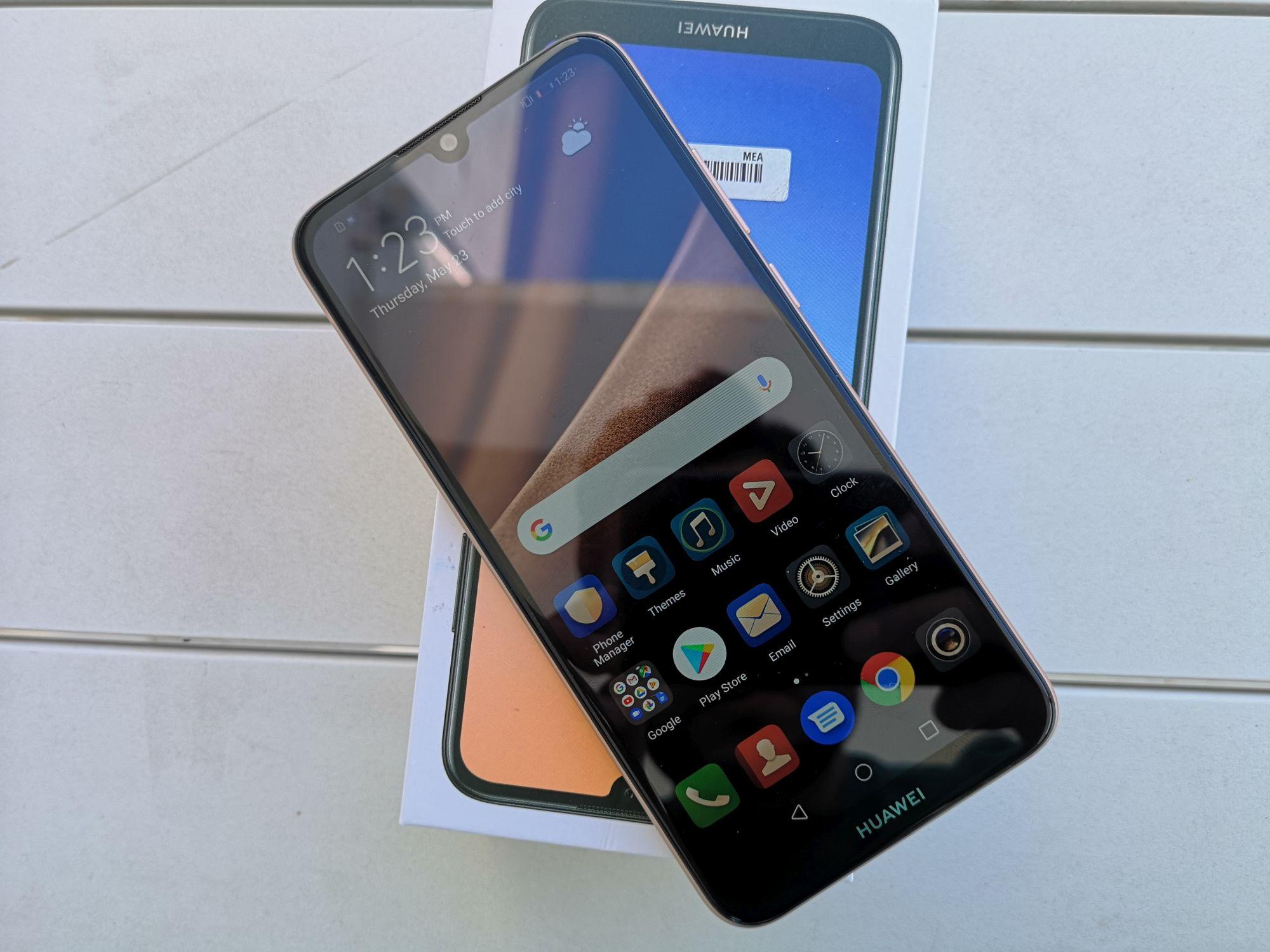 مراجعة لهاتف هواوي Y6 Prime 2019 هاتف إقتصادي في قالب جميل