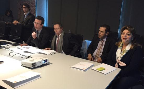Conférence de presse de Orange Tunisie pour le lancement de l'Orange Cloud