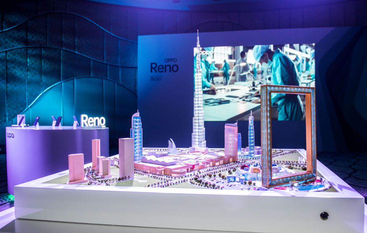 OPPO Reno Dubai launch experience zone