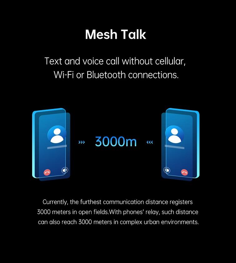 La technologie MeshTalk d'OPPO