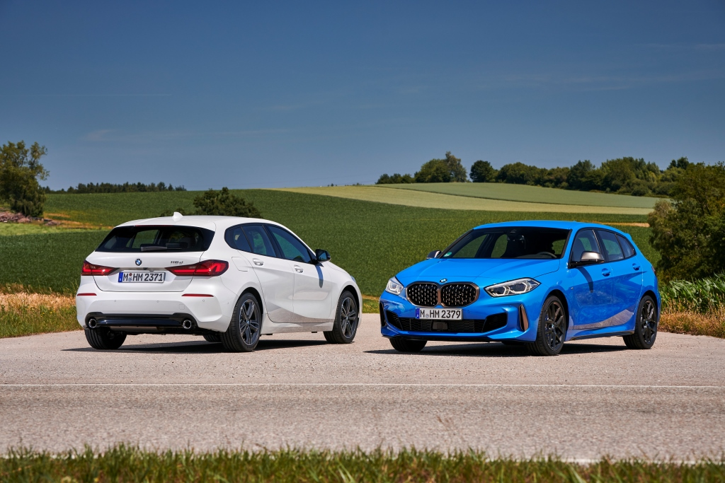 BMW M135i and BMW 118d